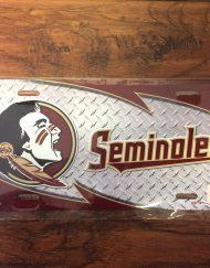 FSU Seminole Diamond License Plate