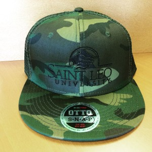 Saint Leo Camo Snap Back Hats