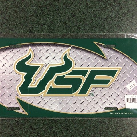 USF Diamond License Plate