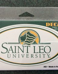 Saint Leo Decal Oval Traditional