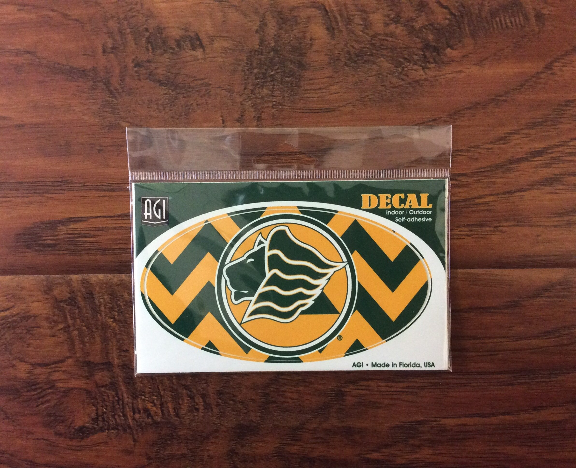 Saint Leo University Decal Oval Chevron