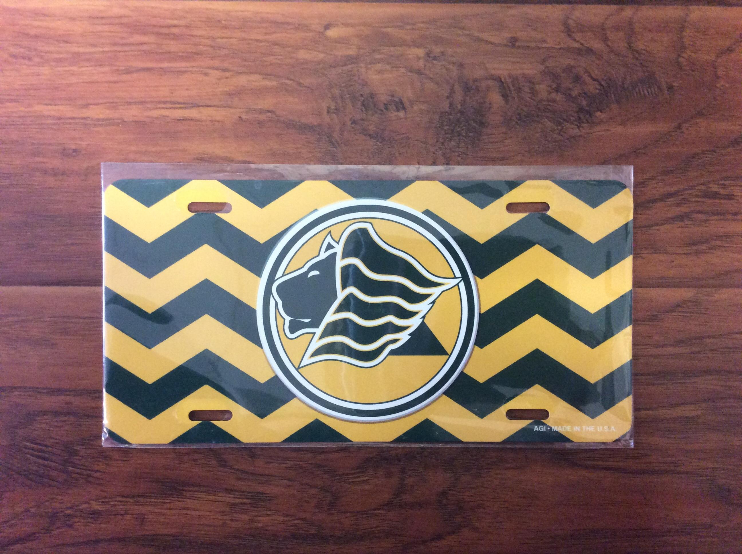 Saint Leo University Chevron License Plate