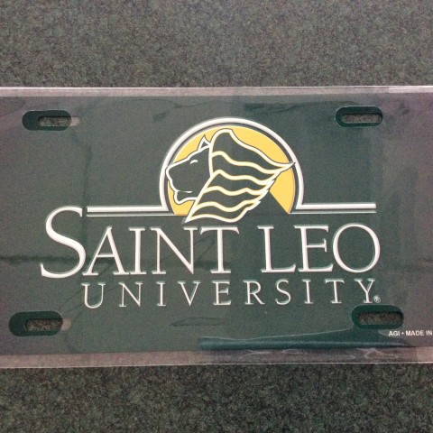 Saint Leo University Traditional License Plate