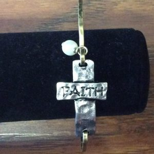 """Faith"" Bangle Bracelet"