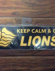 Saint Leo Keep Calm Wood Sign