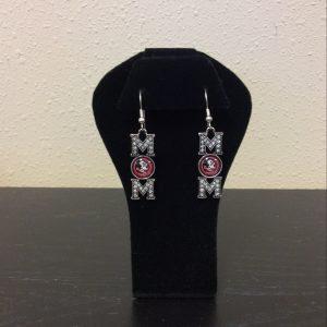 FSU MOM earrings