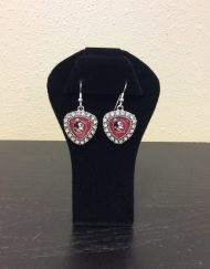 FSU shield earrings