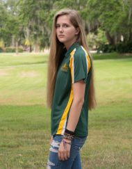 Ladies tri color Saint Leo polo