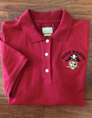 IZOD Ladies Pasco Pirates Polo