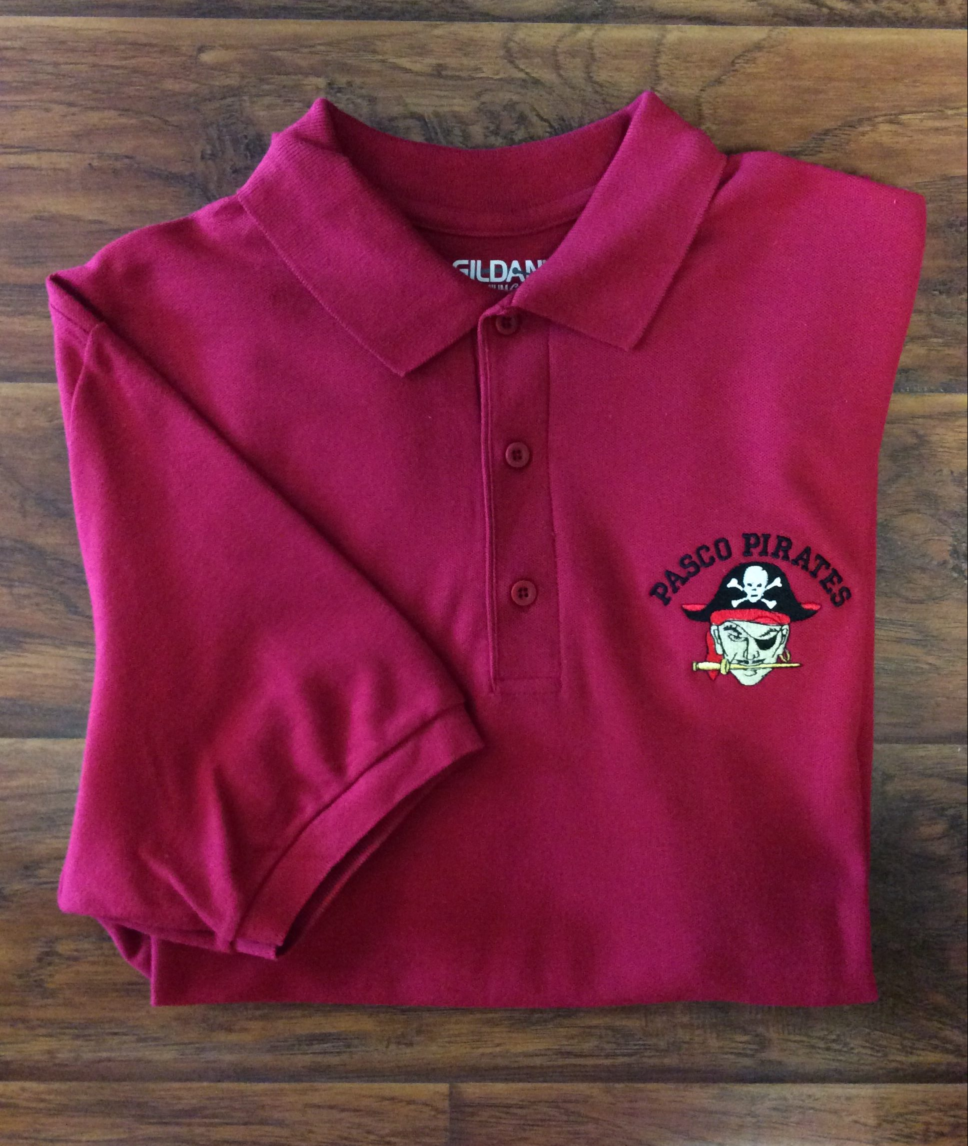 Men's Pasco Pirates Polo