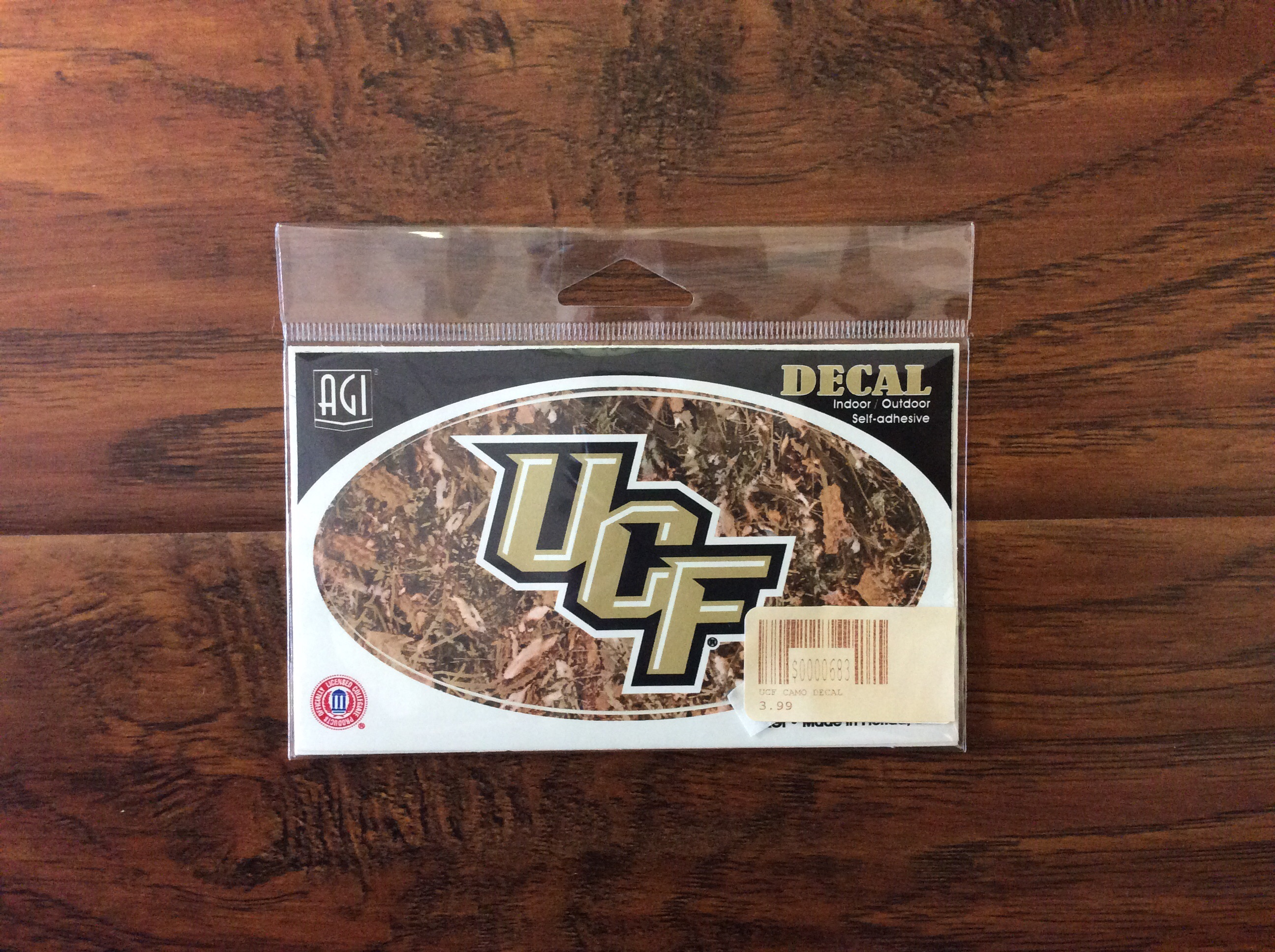 UCF Camo Decal