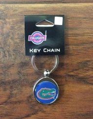 UF Gators Chrome Key Chain