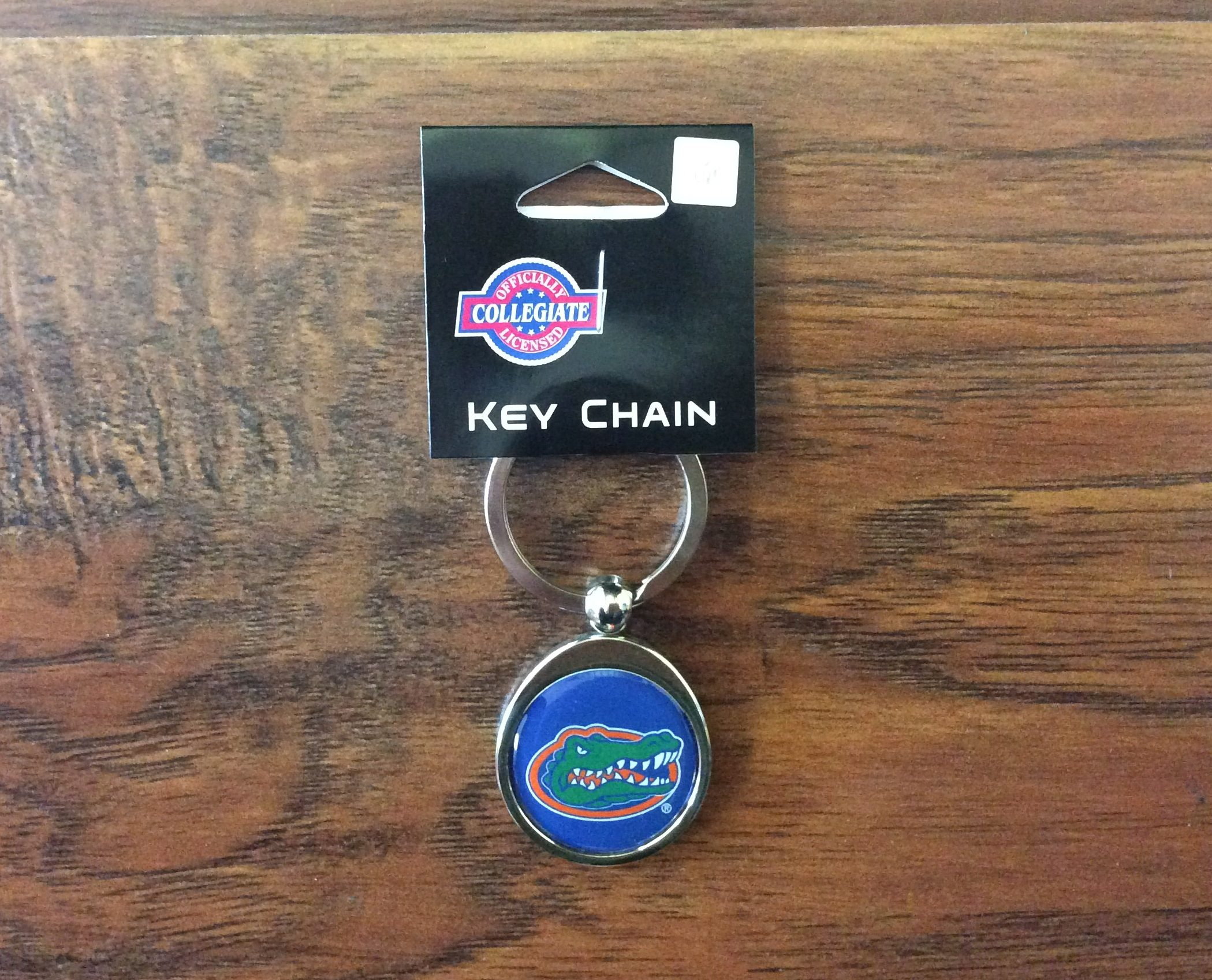 UF Gators Chrome Key Chain