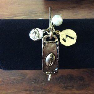 Bangle Football Bracelet