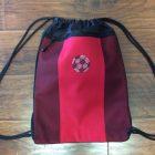 Soccer Bling Cinch Bag
