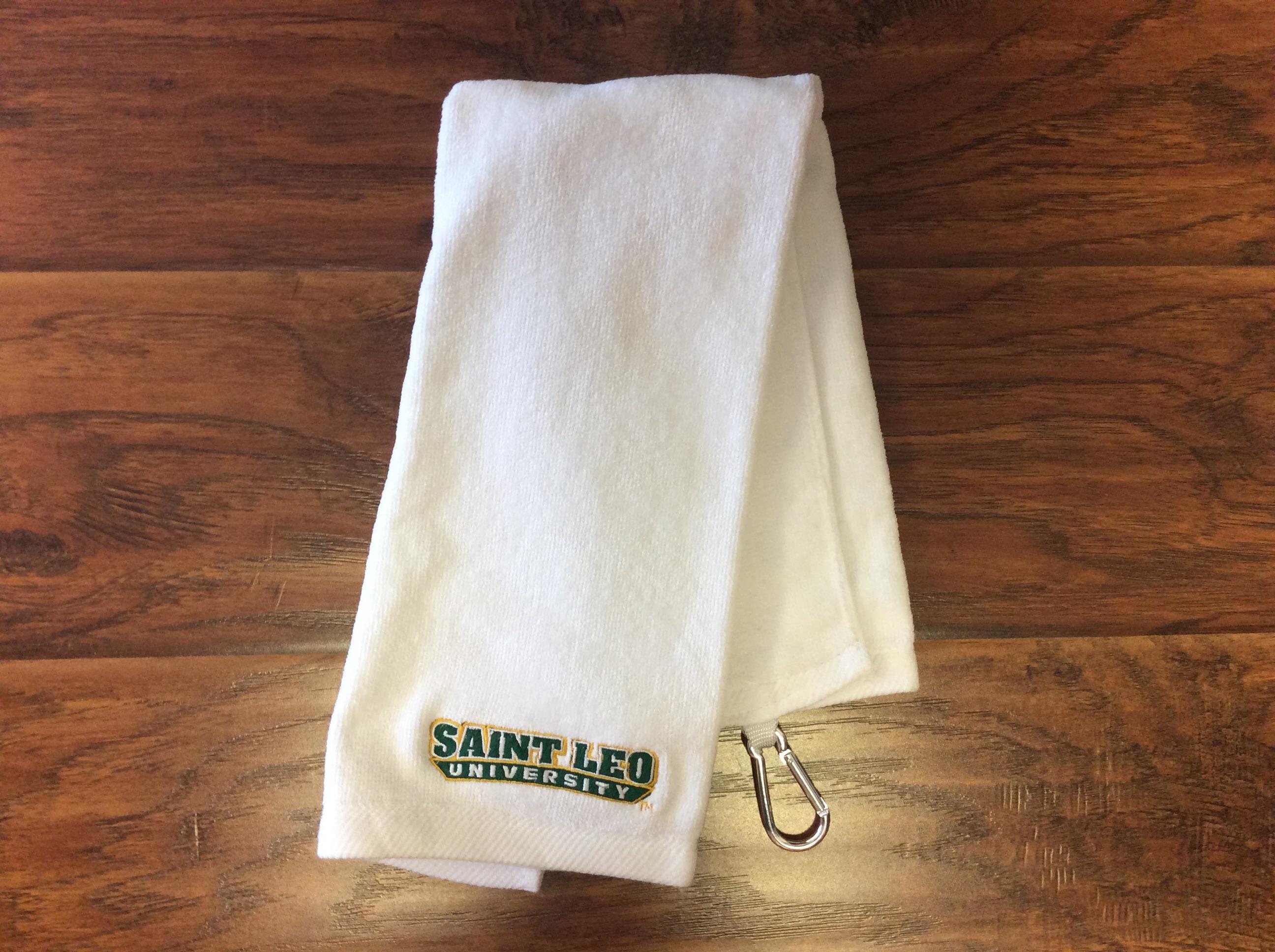Saint Leo Tri-Fold Golf Towel