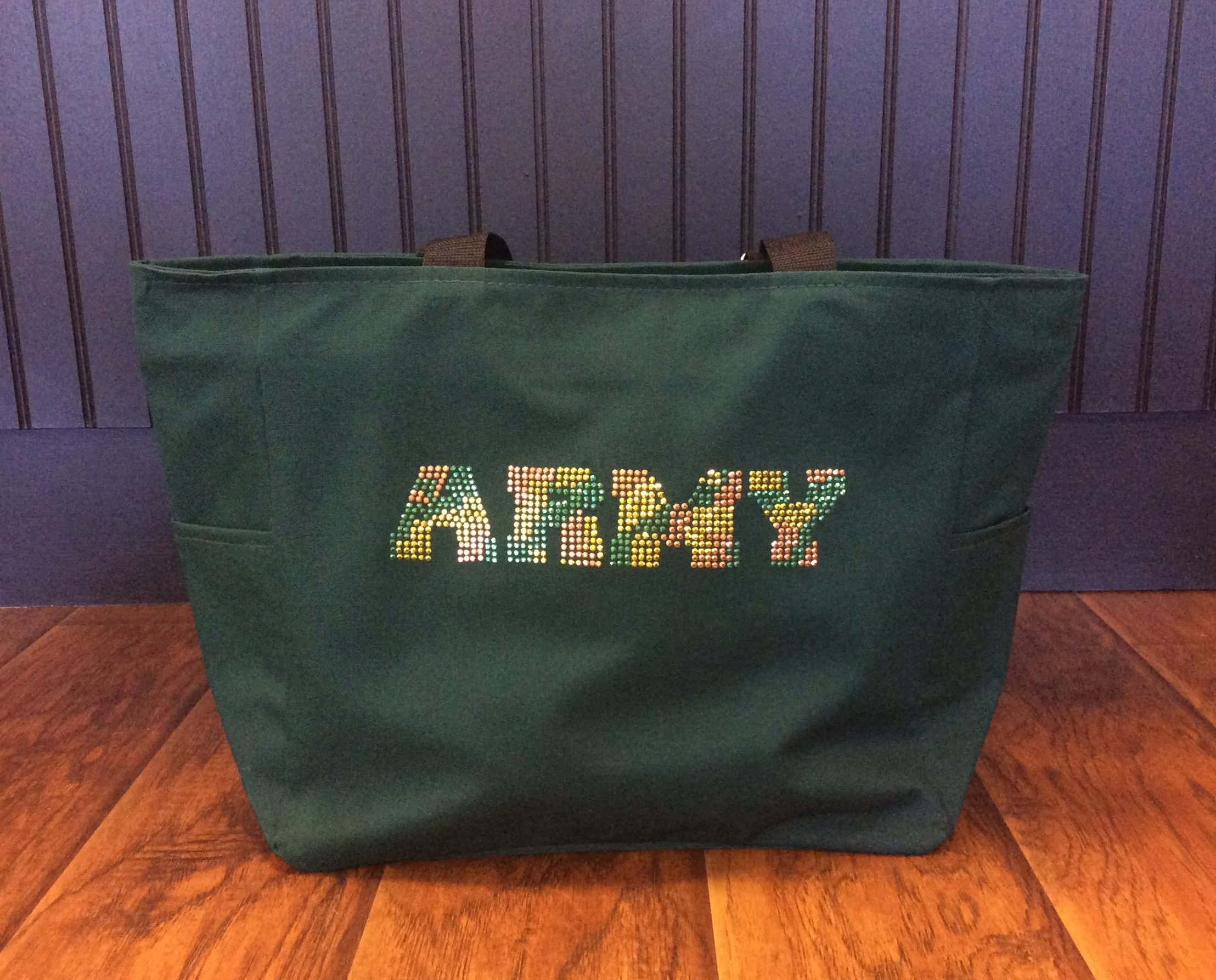 Army Bling Tote Bag