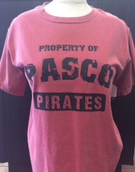 Comfort colors- Property of Pasco High Tee