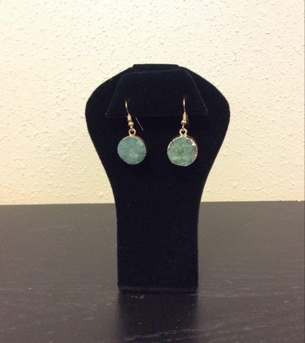 Druzy stone earrings