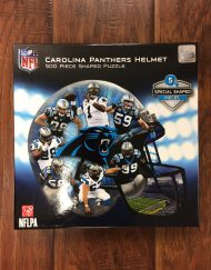 Carolina Panthers Helmet Puzzle