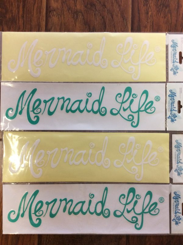 Mermaid Life Decals