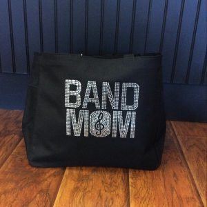 Band Mom Bling Tote