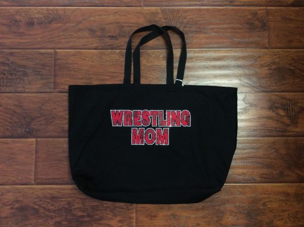 Jumbo Bling Wrestling Mom Tote