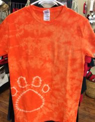 Tie Dye Tee with Paw Print