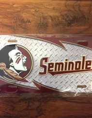 FSU Seminole Diamond License Plate