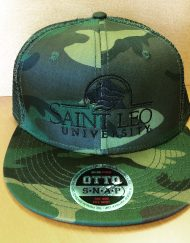 Saint Leo Camo Snap Back Hats