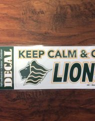 Saint Leo Keep Calm Decal