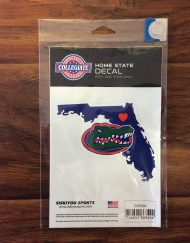 UF Gator Home State Decal