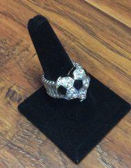 Rhinestone Stretch Soccer Ring