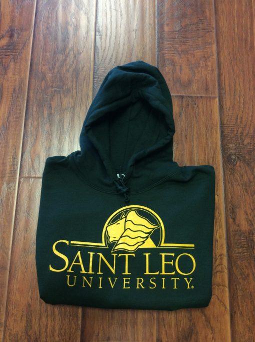 Saint Leo Hoodie Green Gold