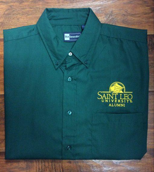 Men's Saint Leo Alumni Button Down Polo