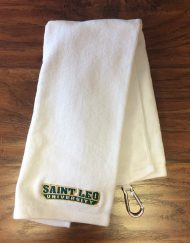 Saint Leo Tri-Fold Golf Towel