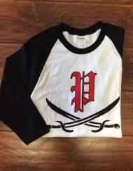 English P & Sword 3/4 Sleeve Shirt
