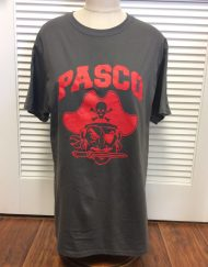 Pasco Pirate Head grey tee
