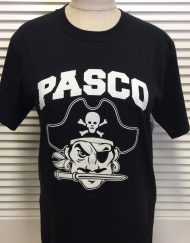 Pasco Pirate Head black tee
