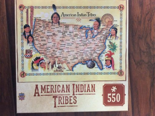 American Indian tribes puzzle