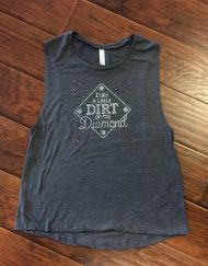 baseball dirt diamond bling