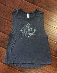 baseball dirt diamond bling