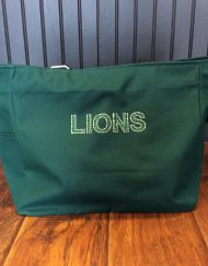 Green Bling Lions Tote